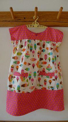 Ice Cream dress...love the fabric