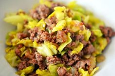 Garbage Stir Fry with Curried Cabbage