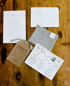 wedding invite suite | SIMPLESONG | Photography by A. Bryan Photo