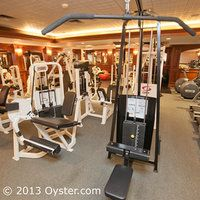 Fitness Center at the Portland Regency Hotel and Spa
