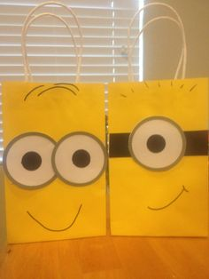 Despicable Me Minion Favor Bags