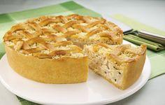 Torta Gradeada de Palmito