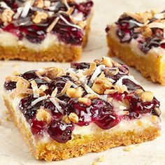 Blueberry Lemon Snack Bars: Blueberry Lemon Snack Bars are delicious for any occasion.