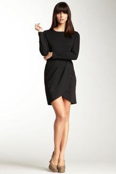 Tulip front LBD hair colors, fashion, skirts, style, tulips, tulip skirt, little black dresses, skirt dress, winter dresses