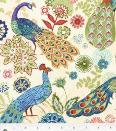 Keepsake Calico Fabric - Royal Peacock from Jo-Ann