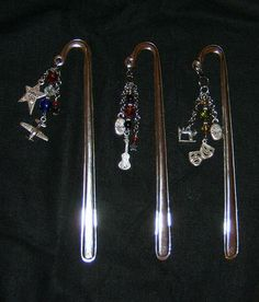 Beaded Bookmarks for Valentine's & Father's day - JEWELRY AND TRINKETS - Knitting, sewing, crochet, tutorials, children crafts, papercraft, jewlery, needlework, swaps, cooking and so much more on Craftster.org