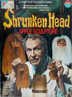 Am I the only who made a shrunken apple head sculpture granny Christmas ornament in kindergarten?