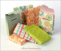 How to make small paper boxes