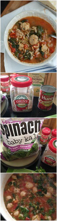 Italian Orzo Soup wi