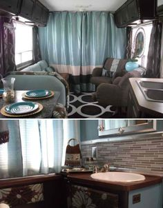 Travel Trailer Remodel | Life on Wheels: 15 Offbeat  Awesome Rolling Homes | WebEcoist