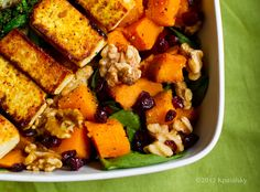 Butternut Bliss Fall Salad.