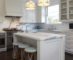 futur hous, idea, light fixtur, marbles, islands, classic white, san francisco, decoratinghom design, white kitchens