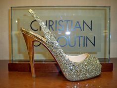 Louboutin Diamond Encrusted Shoes!