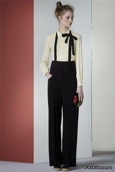 Sonia Rykiel boyish style #fashion