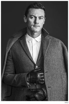 Luke Evans W Mag October 2014