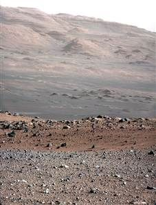 Mars rover sends first human voice from Red Planet (Photo: NASA / JPL-Caltech / MSSS)