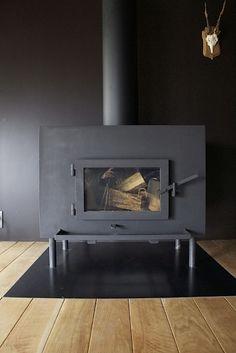 Uno Tomoaki Steel Wood Burning Stove | Remodelista