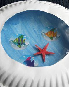 Make a Paper Plate Porthole