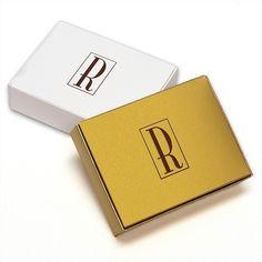 Pick Your Monogram Style Cake Boxes