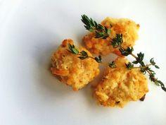 Parmesan Crusted Chicken - the best gluten free chicken nuggets!