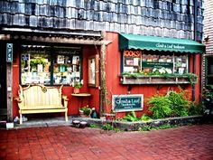 Cloud and Leaf Bookstore in Manzanita, Oregon