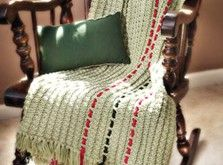 No-Need-To-Count-Stitches Crocheted Afghan