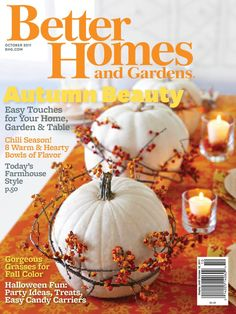 October means Halloween fun and festive fall decorations!