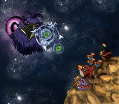 Awesome Angry Birds Space Fan Art!