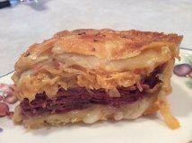 reuben bake, rueben sandwich, reuben crescent, corned beef, crescent bake