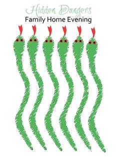 Hidden Dangers Family Home Evening Idea