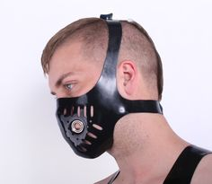 Latex Bike Mask - Regulation London bike mask