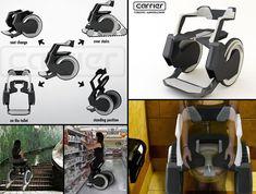 Carrier Robotic Wheelchair