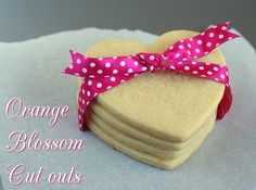 Orange Blossom Cut-out Cookies