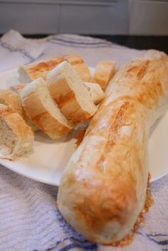 Cooking On Clover Lane: French Bread from the Bread Machine
