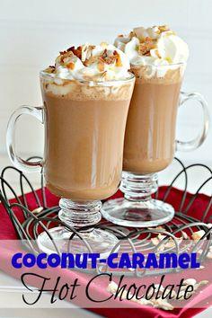 Coconut-Caramel Hot Chocolate