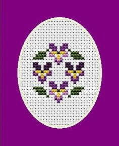 Free Cross Stitch Patterns by AlitaDesigns: Happy Easter! Happy Spring!