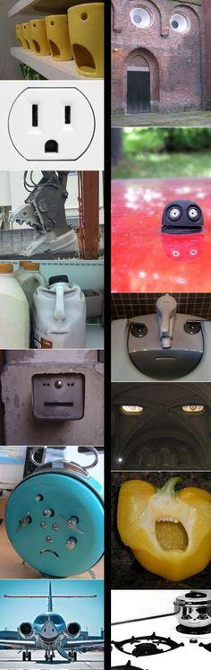 Faces... Faces everywhere...