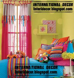 Colourful Room Inspiration (that I wouldn't have balls to do!)