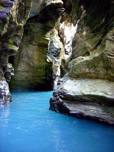 Rockburn Chasm, Glenorchy, New Zealand