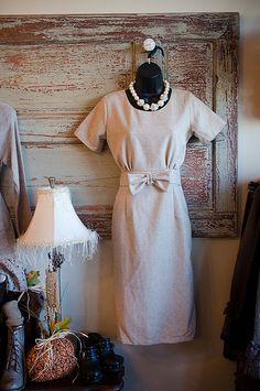 modest retro inspired dress