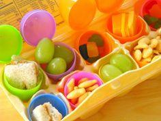 Healthy Easter-themed snacks for Preschool!