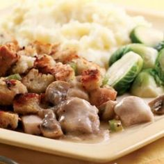 Here's a one-skillet version of chicken and stuffing made with wholesome ingredients.