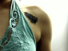 look at the pretty tattoo! by Rags by Sock Monkey, via Flickr