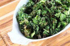 Garlic Roasted Kale Recipe