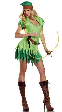 robin hood, costumes, hoods, green, dress