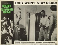 """""""Night of the Living Dead,"""" George A. Romero, 1968 (Lobby Card)"""