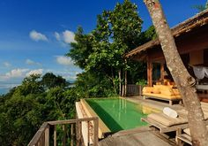 Six Senses Yao Noi/Hideaway Pool Villa - Glorious views out to Phang Nga Bay, with private infinity-edged pool and terrace