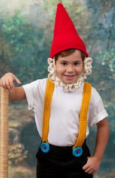 Kidding Around Gnome Free crochet pattern