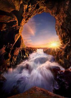 Light Cave by Marc Adamus