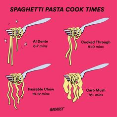 You're probably cooking pasta wrong. 6-7 mins is *chef's kiss.*